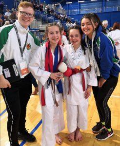 Karate winners